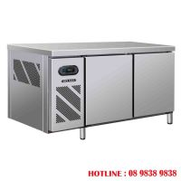 2 DOOR COUNTER CHILLER FREEZER BERJAYA BS 2DCF5-Z