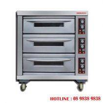 Gas heated baking oven - 1 deck BJY=G180-3BD