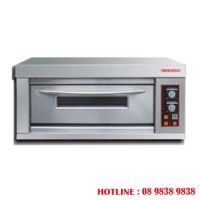 Infra red electrical baking oven - 1 deck  BJY - E6KW-1BD