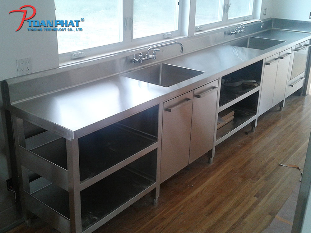 Stainless Steel Kitchen Table Toanphat Corp