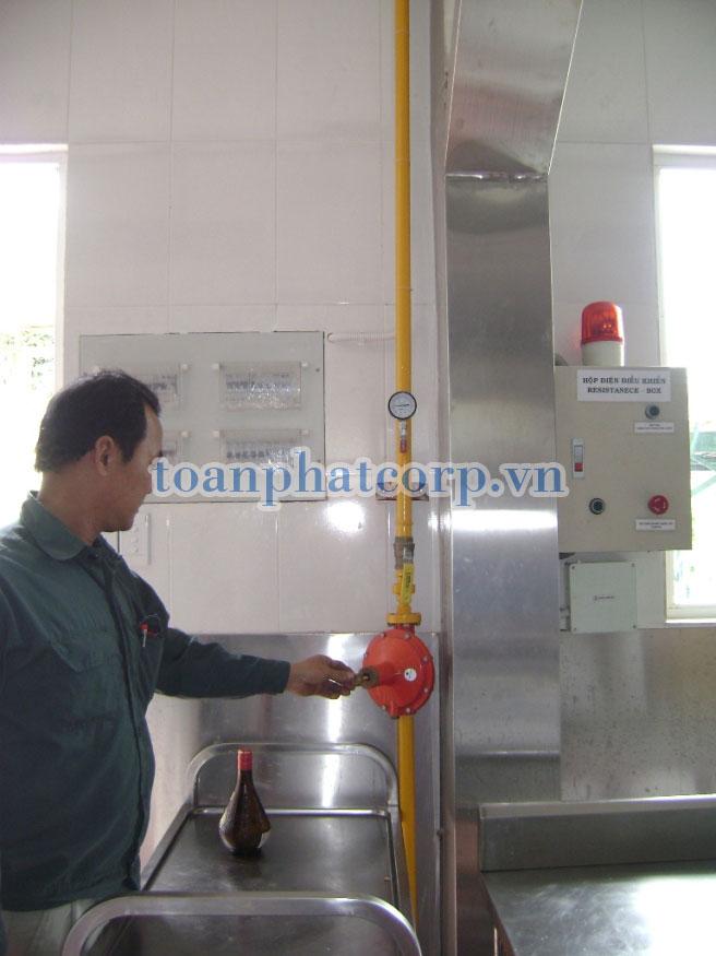 Hệ thống Gas công nghiệp